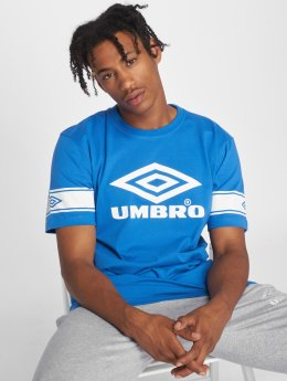 Umbro t-shirt Barrier blauw