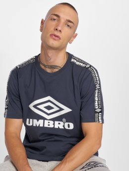 Umbro t-shirt Taped blauw