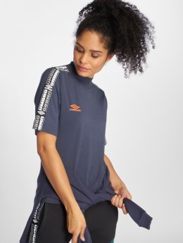 Umbro T-Shirt High Neck bleu
