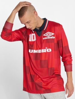 Umbro T-Shirt Monaco LS Football rot