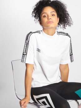 Umbro T-Shirty High Neck bialy