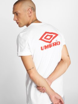 Umbro T-Shirty Classico Crew Logo bialy
