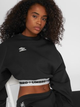 Umbro Top Crop Batwing schwarz