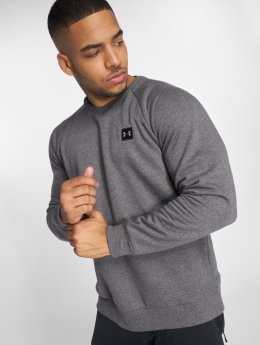 Under Armour Пуловер Rival Fleece серый