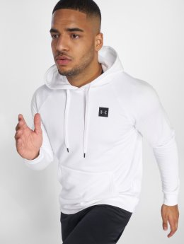 Under Armour Bluzy z kapturem Rival Fleece bialy