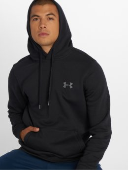 Under Armour Bluzy z kapturem Rival Fitted czarny
