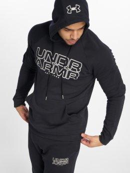 Under Armour Bluzy z kapturem Baseline Fleece czarny