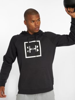 Under Armour Bluzy z kapturem Rival Fleece Logo czarny