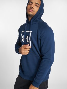 Under Armour Bluzy z kapturem Rival Fleece Logo niebieski