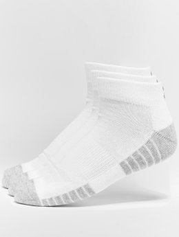 Under Armour Calcetines Ua Heatgear Tech blanco