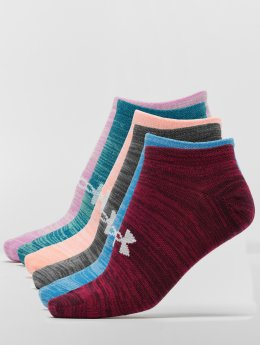 Under Armour Calcetines Essential Twist No Show colorido