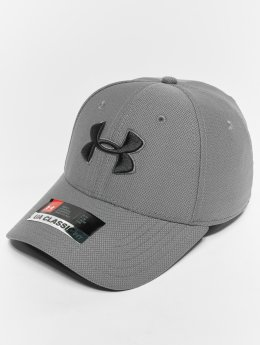 Under Armour Men's Blitzing 30 Cap Flexfitted Cap Graphite Black