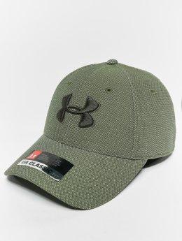 Under Armour Flexfitted Cap Men's Heathered Blitzing 30 grün