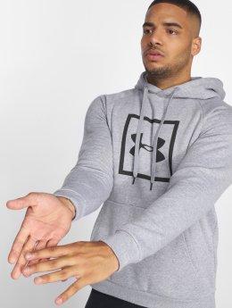 Under Armour Hoodie Rival Fleece Logo grå