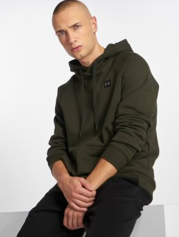 Under Armour Hoodie Rival Fleece Po green