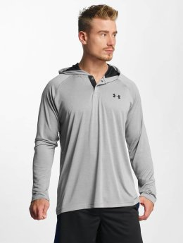 Under Armour Hoody Tech Popover grau
