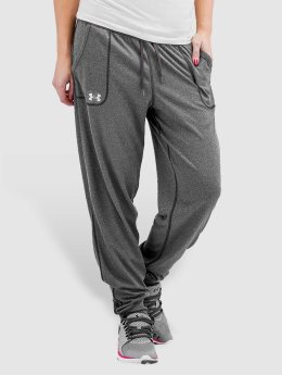 Under Armour joggingbroek Tech Solid grijs