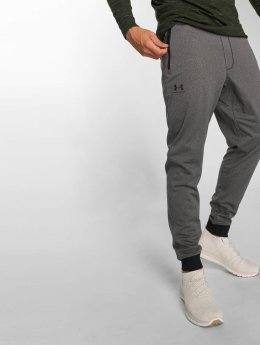 Under Armour joggingbroek Rival Cotton grijs