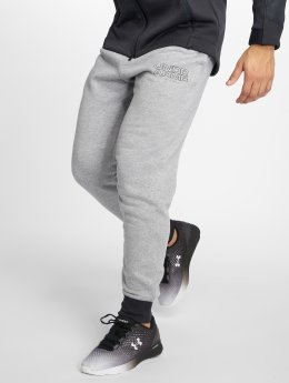 Under Armour Jogginghose Baseline Flc Tapered grau