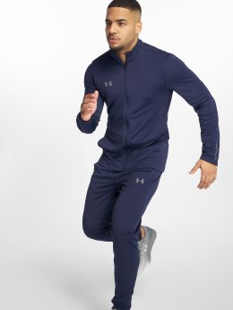 Under Armour Joggingsæt Challenger Ii Knit Warmup blå