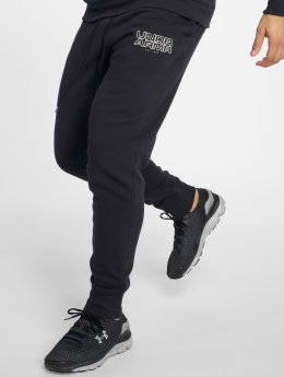 Under Armour Pantalone ginnico Baseline Flc Tapered nero