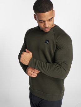 Under Armour Pulóvre Rival Fleece zelená