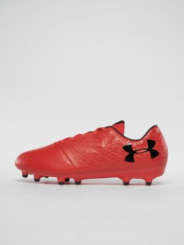 Under Armour Rasenschuhe Ua Magnetico Select Fg rot