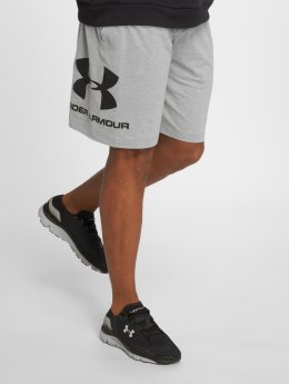 Under Armour Short de sport Sportstyle Cotton Graphic gris
