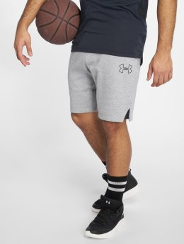 Under Armour Short Ua Baseline Fleece  gris