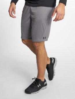 Under Armour shorts Challenger Ii Knit grijs