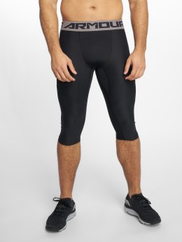 Under Armour shorts Ua Baseline Knee Tight zwart