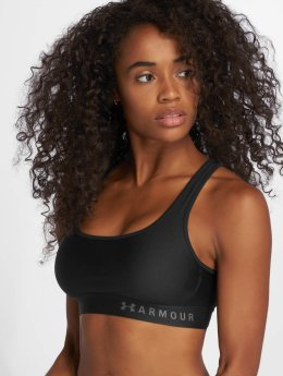 Under Armour Soutiens-gorge de sport Armour Mid Crossback Bra noir