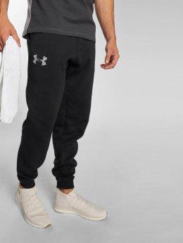 Under Armour Spodnie do joggingu Rival Cotton czarny