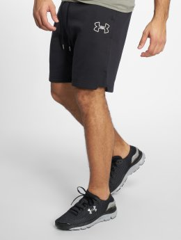 Under Armour Sport Shorts Ua Baseline Fleece czarny