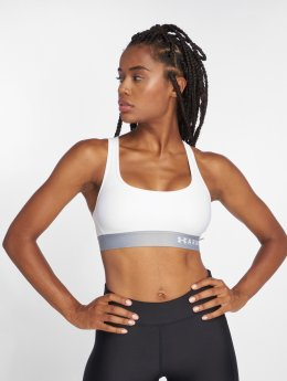 Under Armour Sports Bra Armour Mid white