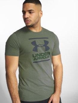 Under Armour T-paidat Ua Gl Foundation vihreä