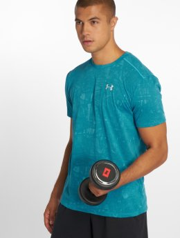 Under Armour T-shirt  Ua Streaker Printed blå