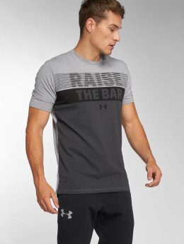 Under Armour t-shirt Raise the Bar grijs