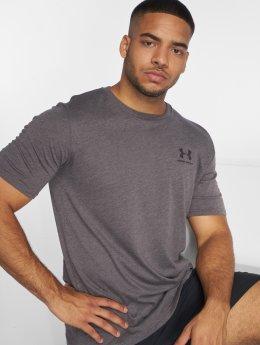 Under Armour t-shirt Sportstyle Left Chest grijs