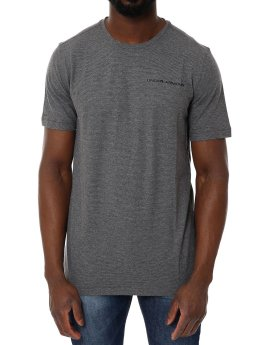 Under Armour t-shirt Charged Cotton Ss grijs