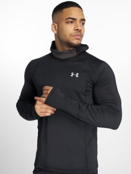 Under Armour T-Shirt manches longues Mfo Reactor Run Balaclava noir