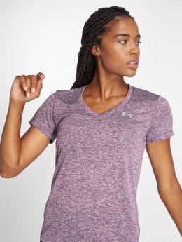 Under Armour t-shirt Women's Ua Tech Twist paars