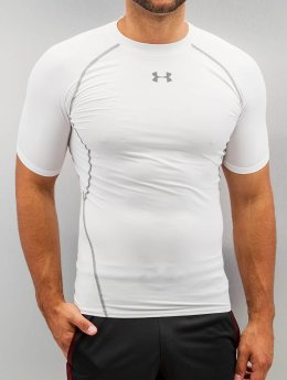 Under Armour T-Shirt Heatgear Compression weiß