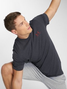 Under Armour t-shirt Charged Cotton Left Chest Lockup zwart