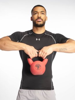 Under Armour T-Shirty Heatgear Compression czarny