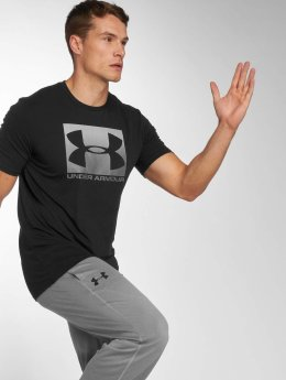 Under Armour T-Shirty Boxed Sportstyle czarny