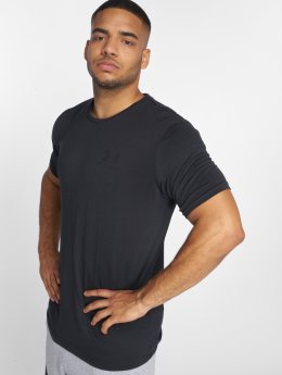 Under Armour T-Shirty Sportstyle Left Chest czarny