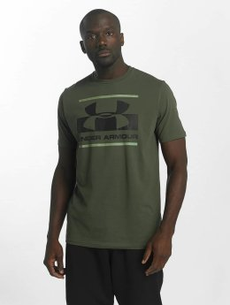 Under Armour T-Shirty Blocked Sportstyle zielony