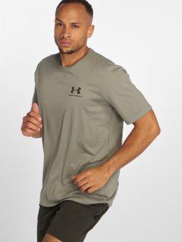 Under Armour T-Shirty Sportstyle zielony