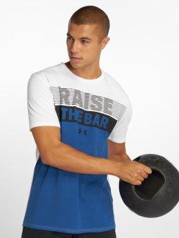 Under Armour T-skjorter Raise the Bar hvit